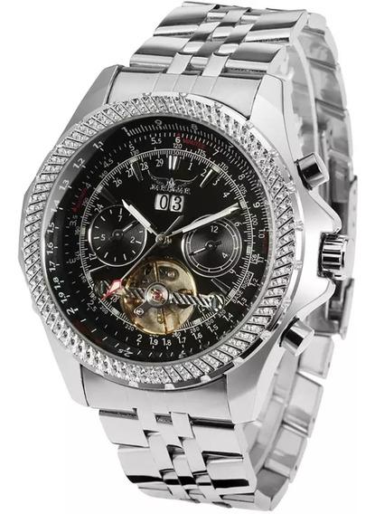 Relógio Automático Masculino Jaragar Original Importado Top