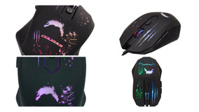 Mouse Gamer Dazz Attack Dz624671 2400 Dpi Para Pc