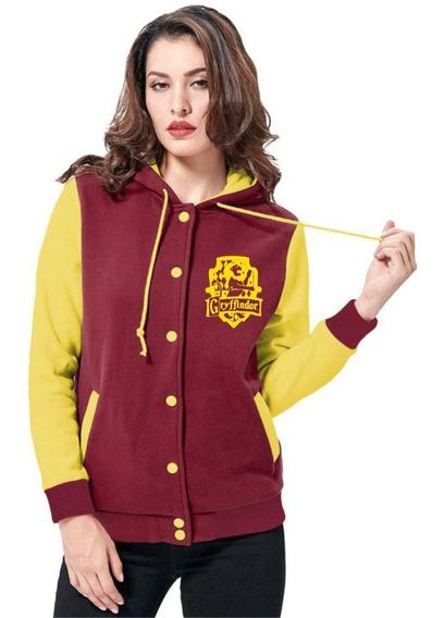 Jaqueta Grifinória Harry Potter Moletom Casaco College Blusa