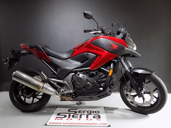 Honda Nc750x Roja 2014