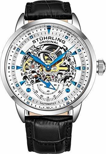 Stuhrling Original - Reloj Automático Para Hombre, Diseño De