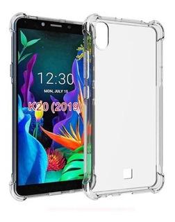 Capa Case Anti Impacto LG K8+ K8 Plus + Pelicula De Vidro