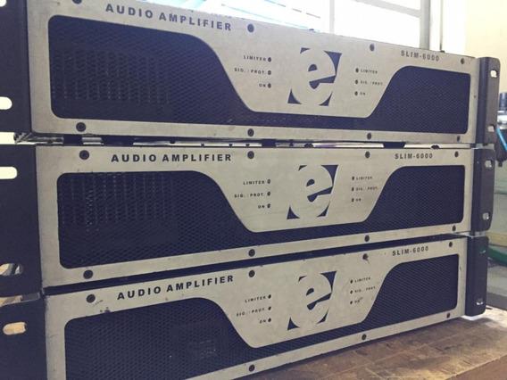 Amplificador De Potencia Etelj Slim 6000 A Vista R$3100,00