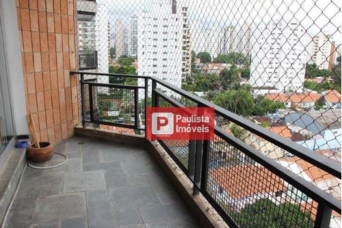 Apartamento Com 3 Dormitórios À Venda, 143 M² Por R$ 1.050.000,00 - Campo Belo - São Paulo/sp - Ap23346