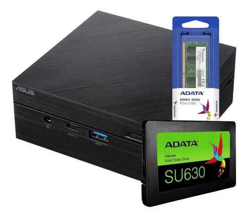 Mini Pc Asus Pn61-b Intel I7-8565u Bt Wifi Hdmi 480gb 16gb