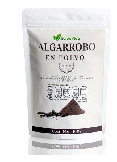 Algarrobo Orgánico En Polvo 100 Gramos