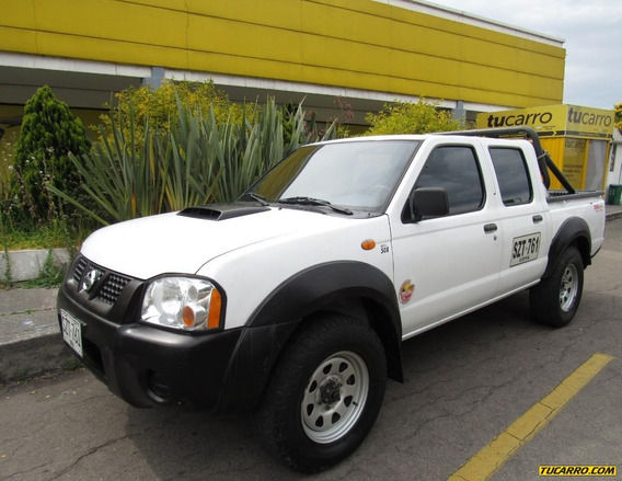 Nissan Frontier Doble Cabina 2.5 Diésel Mecánica 4x4