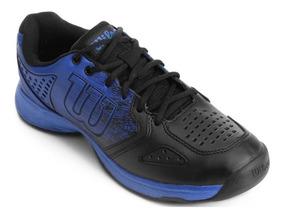 Tênis Para Jogar Tênis Wilson K Ultimate Azul E Preto