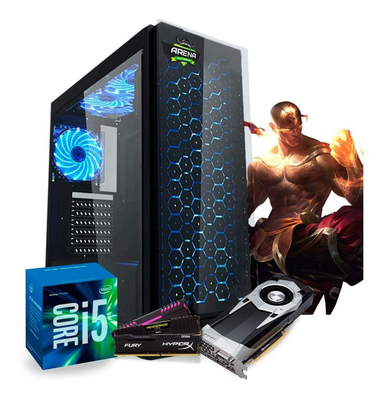 Pc Gamer Intel I5 7400 (geforce Gtx 1060 6gb) 16gb / Hd 1tb