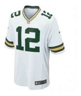 Camisa Futebol Americano Green Bay Packers Aaron Rodgers