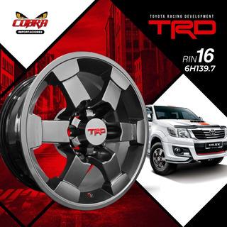 Aros Trd R16 Camioneta Toyota Hilux Prado Land Crusier