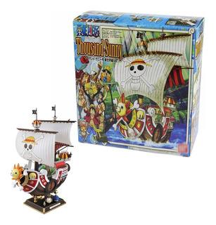 Modelo Barco Pirata One Piece Thousand Sunny Nuevo P/colecc.