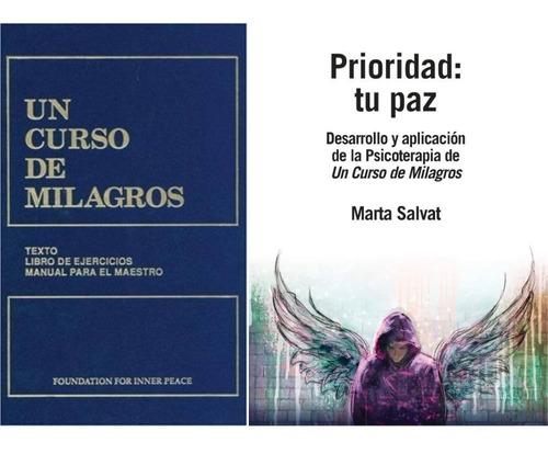 Un Curso De Milagros Prioridad Tu Paz De Marta Salvat Mercado Libre