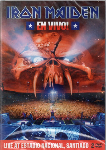 Dvd Iron Maiden En Vivo Dvd Duplo Lacrado Frete 12,00