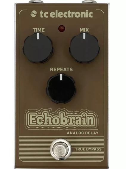 Pedal Delay Analógico Para Guitarra Tc Electronic Echobrain
