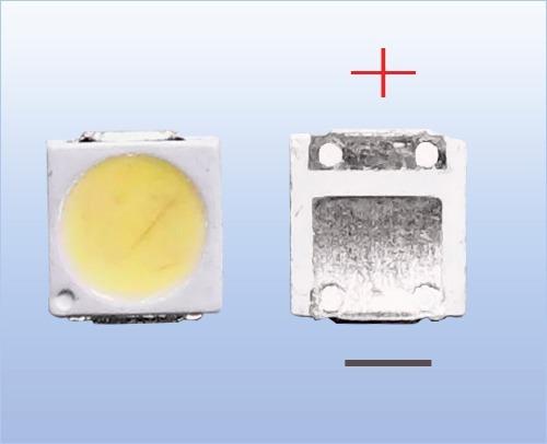 Kit Com 30 Leds 3030 Toshiba Com Abas 6v 1.8w Dl4845 Smd