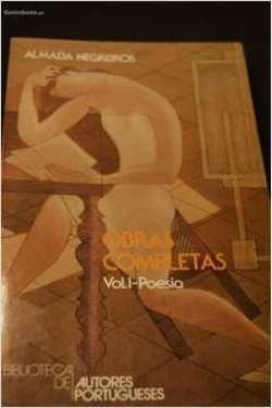 Livro: Obras Completas Vol. I-poesia Almada Negreiros - Alma