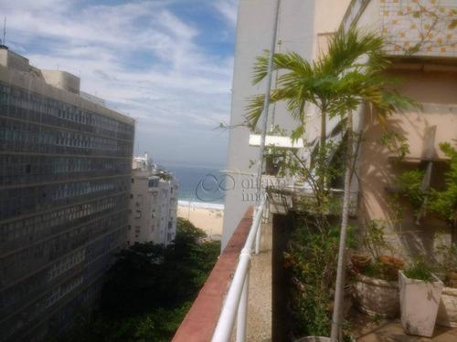 Imagem 1 de 30 de Cobertura À Venda, 300 M² Por R$ 2.300.000,00 - Copacabana - Rio De Janeiro/rj - Co0554