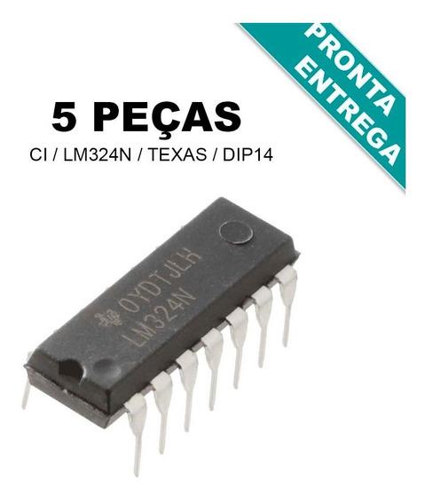 Ci Lm324n / Lm324 / Lm 324 / Lm 324n - Original (5 Peças)