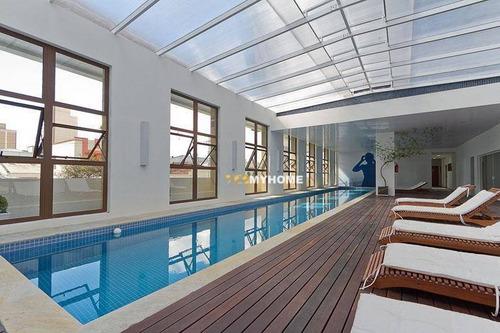 Imagem 1 de 30 de Cobertura Com 2 Dormitórios À Venda, 123 M² Por R$ 699.000,00 - Centro - Curitiba/pr - Co0444