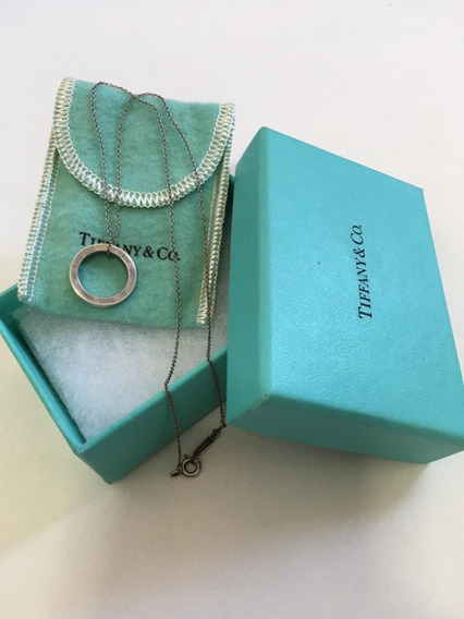 Colar Tiffany & Co. Pingente Circle