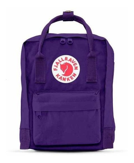 Mochila Kanken Classic Fjallraven Original Purple Violet