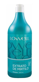 Lowell Extrato De Mirtilo Shampoo Complex Care 1 Litro