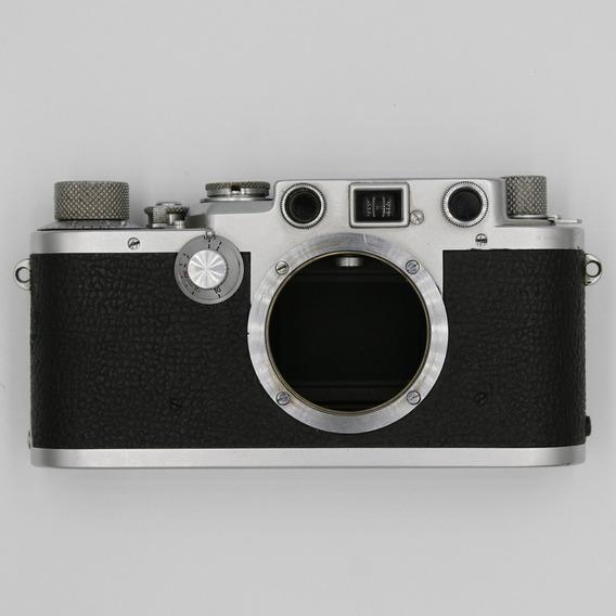 Câmera Leica Iiif Revisada Com Cortina Nova