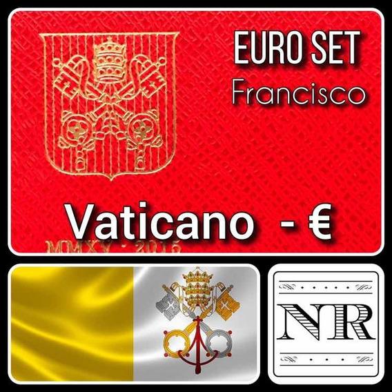 Vaticano - Euro Set - Año 2015 - Km # Varios - 2 Bimetalicas