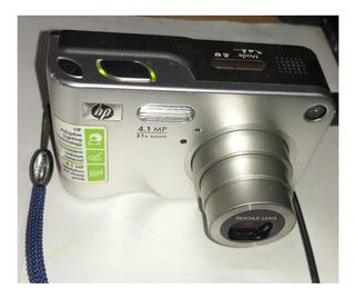 Cámara Digital Usada Barata, Marca Hp 4.1mp 21x Zoom Óptico