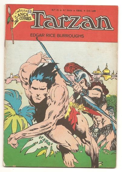 Tarzan Nr 31 - 4ª Série - Ebal - Agosto De 1976