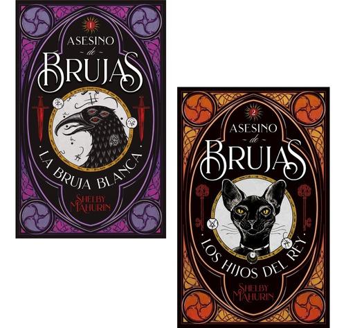 Imagen 1 de 4 de Pack Asesino De Brujas 1 Y 2 - Shelby Mahurin