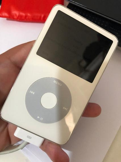 iPod Classic Branco Espelhado Raridade 80gb 5 Geração