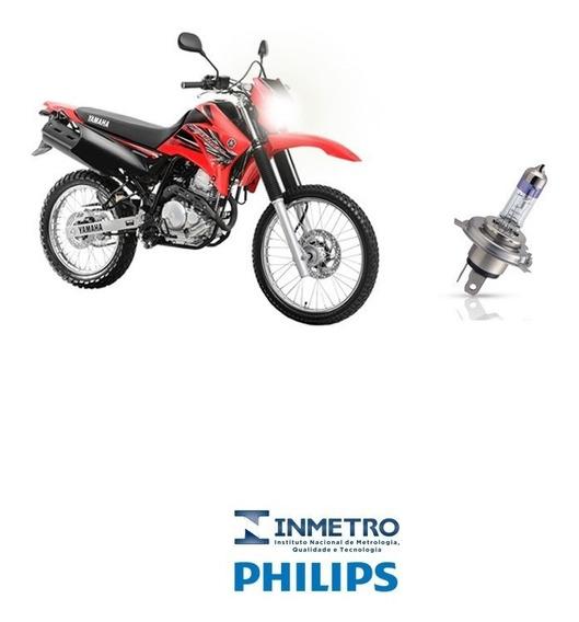 Lâmpada Farol Moto Honda Xr 250 Tornado Philips 100%+luz