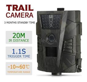 Câmera Trilha Caça Foto Video Visão Noturna Vigilancia Arma