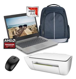 Laptop Lenovo Ideapad 330 Amd A4-9125 500gb Dd 4gb Ram + Kit