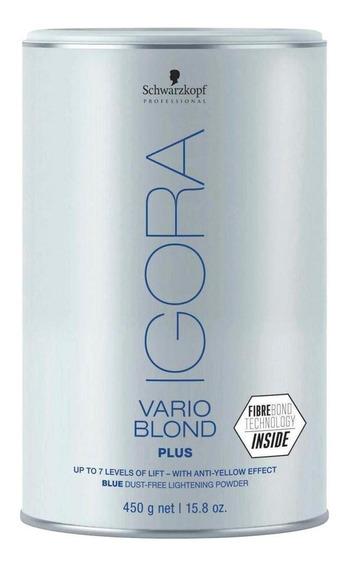 Schwarzkopf Igora Vario Blond Plu Azul Pó Descolorante 450g