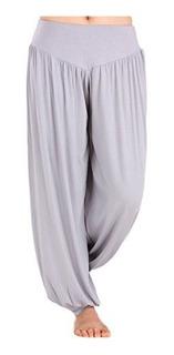 Pantalones Bombachos Deportivos Suaves De Mujer Ejercicio De