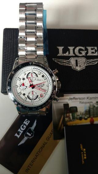 Relógio Lige Quartz-branco