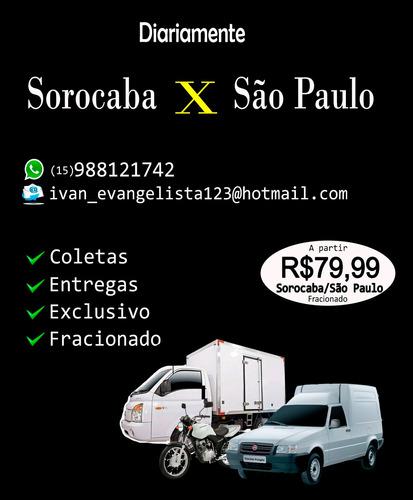 Transportadora De Sorocaba Para São Paulo Diariamente Frete