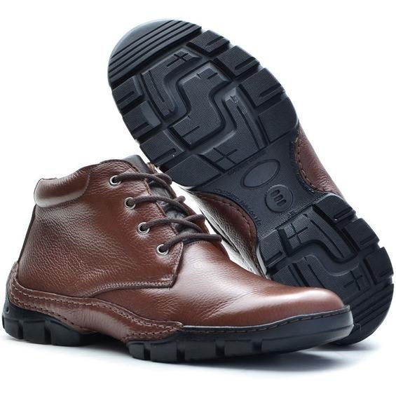 Sapato Masculino Bota Social Coturno Casual