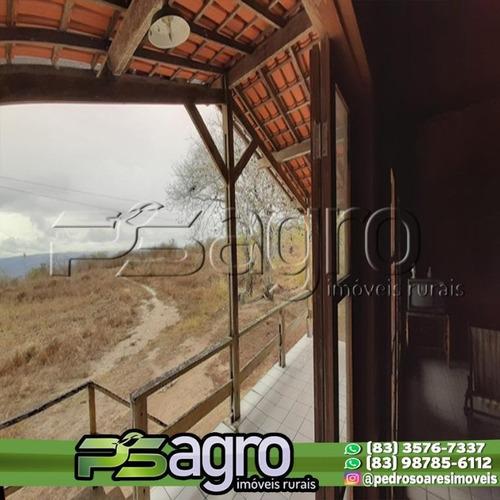 Imagem 1 de 30 de Fazenda À Venda, 150 Hectares Por R$ 1.125.000 - Ingá/pb - Fa0168