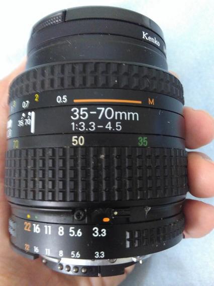 Lente Nikon Af Nikkor 35-70mm F/1:3.3 - 4.5