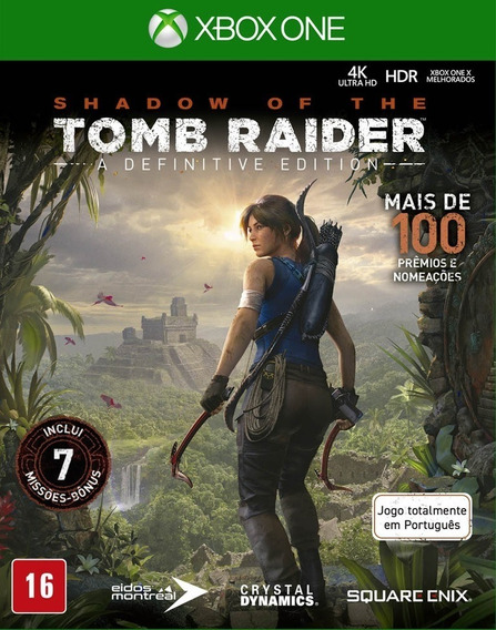Shadow Of The Tomb Raider Definitive Edition Xbox One + 1 Jg