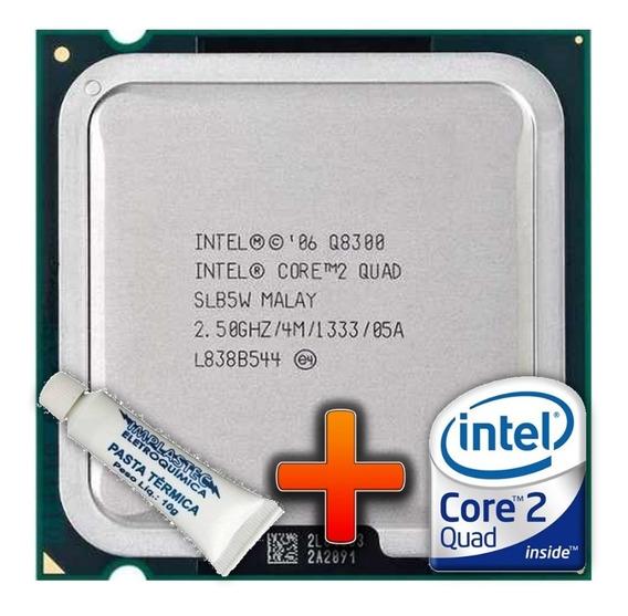 Processador Core2quad Q8300 Intel 2.50ghz 4mb Cache 1333mhz