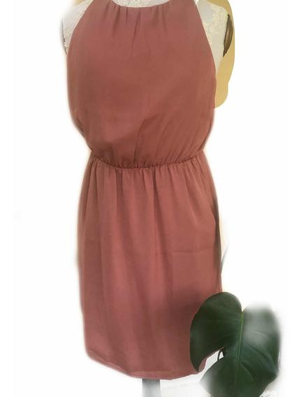 Vestido De Seda Forever 21
