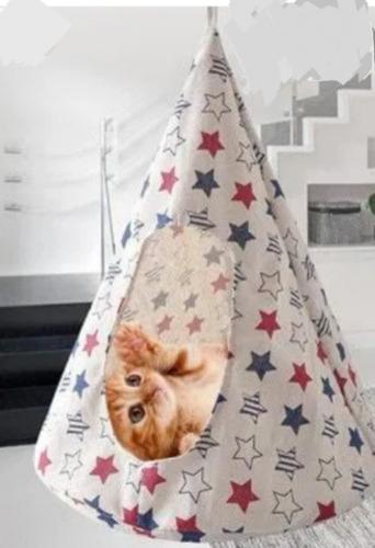 Imagen 1 de 5 de Hamaca, Cama Golgante Para Gatos