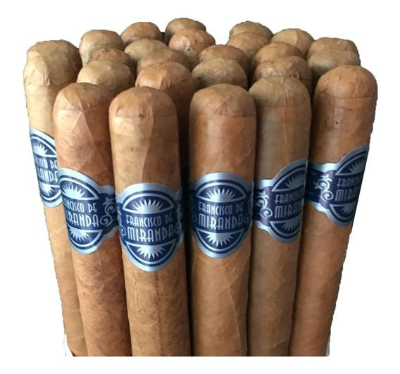 Cigarros Francisco De Miranda - Linea Azul Petit Robusto