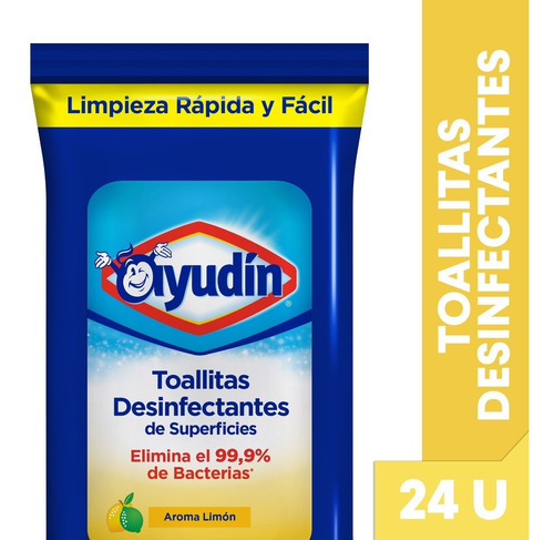 Ayudin Toallitas Desinfectantes Flow Pack Limon