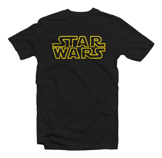 Remera Star Wars Logo Adulto